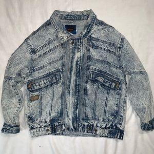 Vintage | Acid Wash Jean Jacket